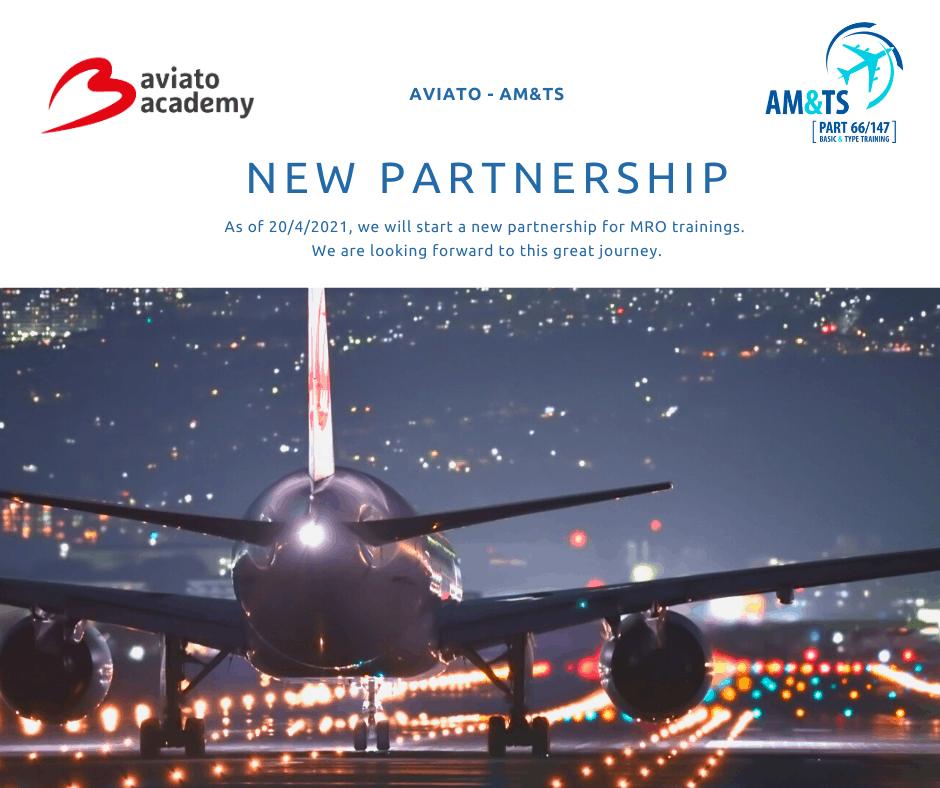 Aviato Academy en AM&TS bundelen hun krachten om MRO e-learnings aan te bieden